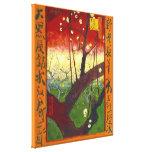 Van Gogh Flowering Plum Tree (Hiroshige) (F371) Gallery Wrap Canvas