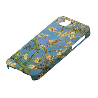 Van Gogh Flowers Art, Blossoming Almond Tree iPhone 5 Cases