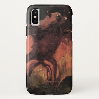 Van Gogh Flying Fox (Bat), Vintage Still Life Art iPhone X Case