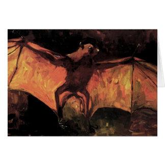 Van Gogh Flying Fox Greeting Card