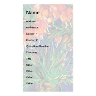 Van Gogh - Fritillaries In A Copper Vase Pack Of Standard Business Cards