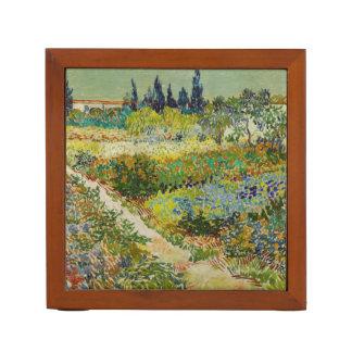 Van Gogh Garden at Arles Desk Organizer