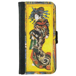 Van Gogh Geisha iPhone 6 Wallet Case