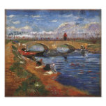 Van Gogh Gleize Bridge, Vigueirat Canal Poster