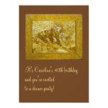 Van Gogh Grapes, Pears and Lemons Vintage Fine Art 13 Cm X 18 Cm Invitation Card