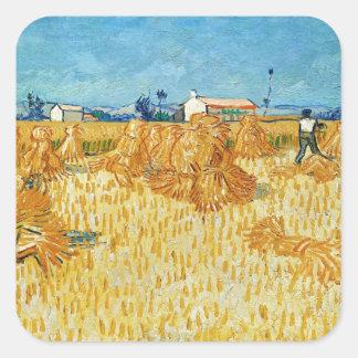 Van Gogh; Harvest in Provence Sticker