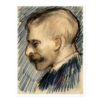 Van Gogh Head of Man (Theo?) Postcard