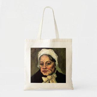 Van Gogh, Head of Old Woman, White Cap (Midwife)