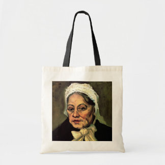 Van Gogh, Head of Old Woman, White Cap (Midwife) Bag