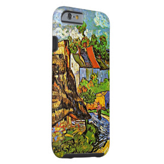 Van Gogh - Houses in Auvers - 2 Tough iPhone 6 Case