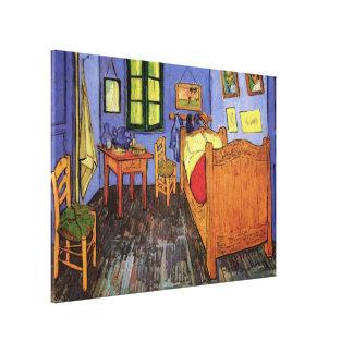 Van Gogh Impressionism, Vincent's Bedroom in Arles Canvas Prints