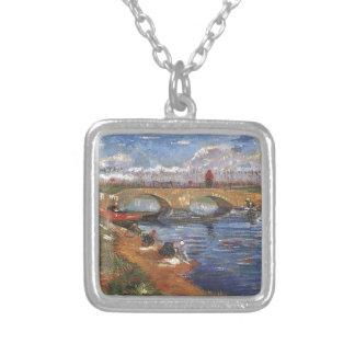 Van Gogh Impressionist Painter Vintage Art Necklace