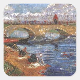 Van Gogh Impressionist Painter Vintage Art Stickers