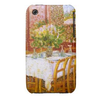 Van Gogh: Interior of a Restaurant iPhone 3 Case-Mate Cases