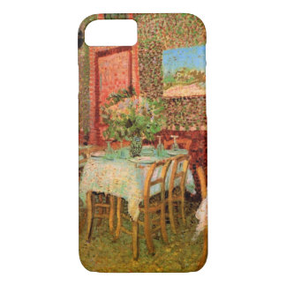Van Gogh Interior of Restaurant, Vintage Fine Art iPhone 7 Case