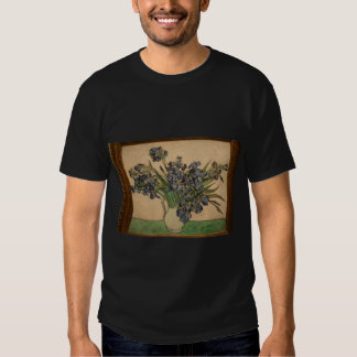 van gogh irises in nyc partial  van gogh irises in T-Shirt