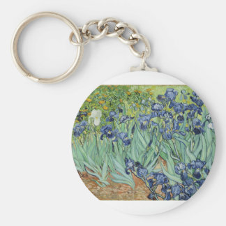 Van Gogh Irises Key Ring