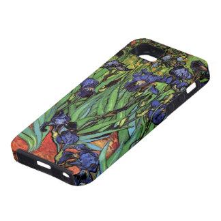 Van Gogh Irises, Vintage Garden Fine Art Tough iPhone 5 Case
