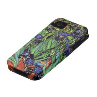 Van Gogh Irises, Vintage Post Impressionism Art iPhone 4/4S Cover