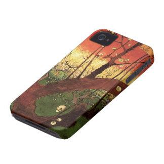 Van Gogh Japanese Flowering Plum Tree, Fine Art iPhone 4 Covers