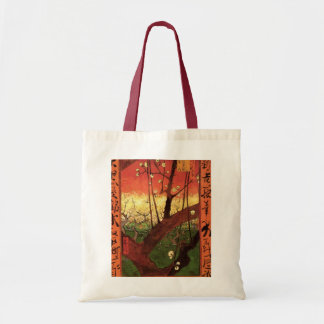 Van Gogh Japanese Flowering Plum Tree, Fine Art Tote Bag