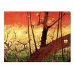 Van Gogh Japanese Flowering Plum Tree, Vintage Art Post Cards