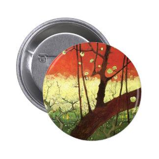 Van Gogh Japonaiserie Button