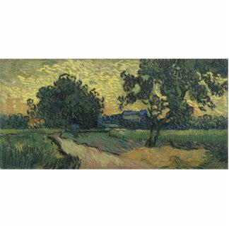 Van Gogh Landscape at Twilight 1890 Cut Outs