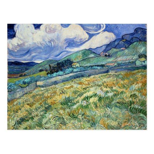 Van Gogh Landscape from Saint-Remy Postcard