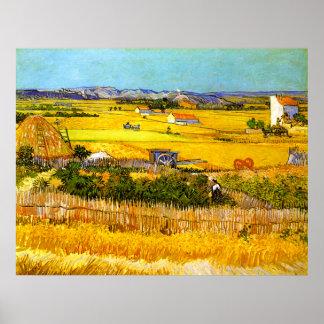 Van Gogh: Landscape Near Arles Poster