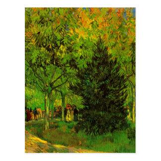 Van Gogh Lane Public Garden Arles (F470) Postcard