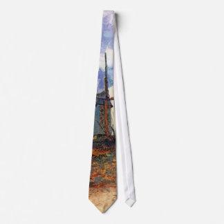 Van Gogh - Le Moulin De La Galette Windmill Tie