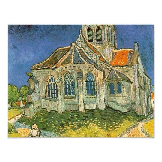 VAN GOGH - L'EGLISE D'AUVERS-SUR-OISE CARD