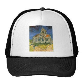 VAN GOGH - L'EGLISE D'AUVERS-SUR-OISE HAT