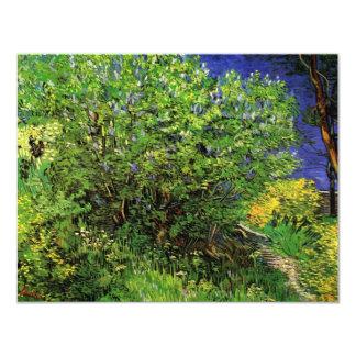 Van Gogh Lilacs, Vintage Flowers, Floral Fine Art Personalized Invitations