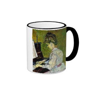 Van Gogh - Marguerite Gachet At The Piano Coffee Mug