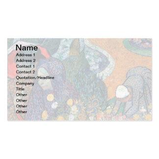 Van Gogh - Memory Of The Garden At Etten Standard Business Cards