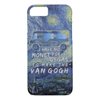 Van Gogh Monet Degas Funny Artist Pun Starry Night iPhone 7 Case