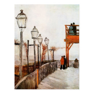 Van Gogh Montmartre (F272) Fine Art Postcard