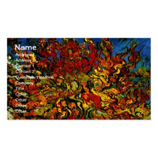 Van Gogh Mulberry Tree (F637) Fine Art Business Card