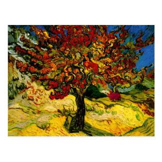 Van Gogh Mulberry Tree (F637) Fine Art Postcard