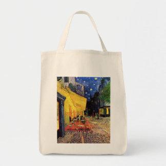 Van Gogh Night Cafe Terrace on the Place du Forum Canvas Bag