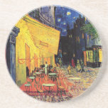 Van Gogh Night Cafe Terrace on the Place du Forum Sandstone Coaster