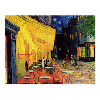 Van Gogh Night Cafe Terrace on the Place du Forum Postcard