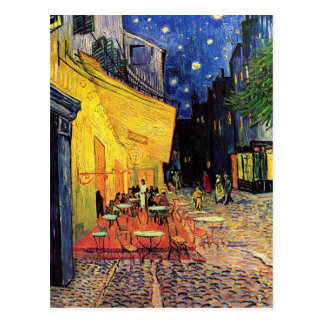 Van Gogh Night Cafe Terrace on the Place du Forum Postcard