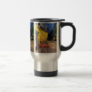 Van Gogh Night Cafe Terrace on the Place du Forum Stainless Steel Travel Mug