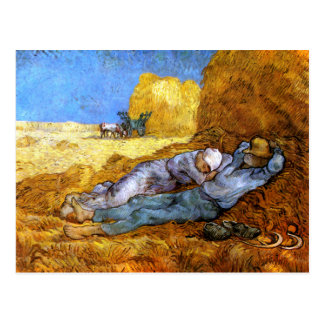 Van Gogh: Noon Rest from Work Postcard
