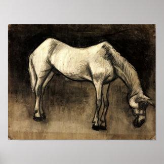 Van Gogh - Old Nag Print