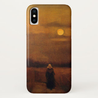 Van Gogh Old Tower In The Fields, Vintage Fine Art iPhone X Case
