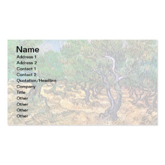 Van Gogh - Olive Grove Business Cards